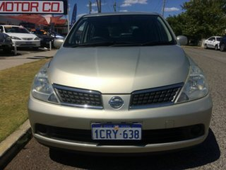 2006 Nissan Tiida C11 ST Gold 4 Speed Automatic Hatchback.