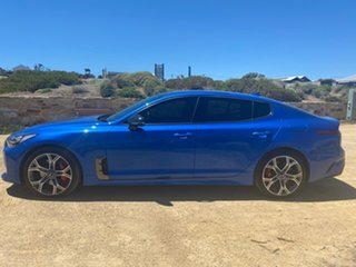 2017 Kia Stinger CK MY18 GT Fastback Blue 8 Speed Sports Automatic Sedan
