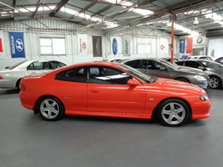 2002 Holden Monaro V2 CV6 Orange 4 Speed Automatic Coupe