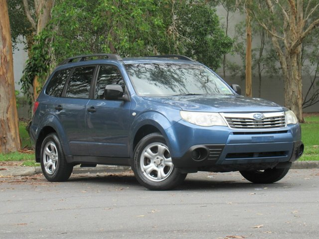 Used Subaru Forester S3 MY09 XS AWD, 2008 Subaru Forester S3 MY09 XS AWD Blue 4 Speed Sports Automatic Wagon