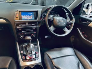 2013 Audi Q5 8R MY13 TFSI Tiptronic Quattro Silver 8 Speed Sports Automatic Wagon.