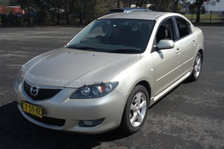 2005 Mazda 3 BK10F1 Maxx Sport Silver 4 Speed Sports Automatic Sedan.