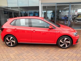 2020 Volkswagen Polo AW MY21 GTI DSG Flash Red 6 Speed Sports Automatic Dual Clutch Hatchback.