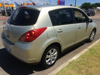 2006 Nissan Tiida C11 ST Gold 4 Speed Automatic Hatchback