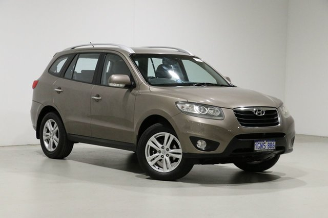 Used Hyundai Santa Fe CM MY10 Highlander CRDi (4x4) Bentley, 2010 Hyundai Santa Fe CM MY10 Highlander CRDi (4x4) Bronze 6 Speed Automatic Wagon