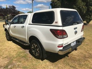 2018 Mazda BT-50 XTR (4x4) (5Yr) White 6 Speed Automatic Dual Cab Utility