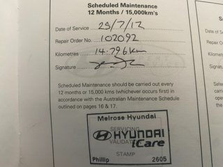 2011 Hyundai Getz TB MY09 SX White 5 Speed Manual Hatchback