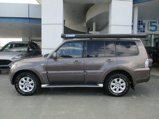 2010 Mitsubishi Pajero GLS Grey Automatic Wagon.