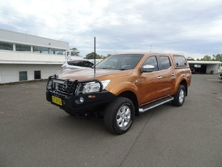 2015 Nissan Navara D23 ST Hornet Gold 7 Speed Sports Automatic Utility.
