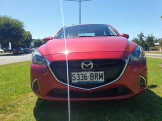 2017 Mazda 2 DL2SAA GT SKYACTIV-Drive Soul Red 6 Speed Sports Automatic Sedan