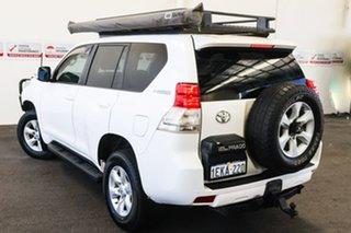 2013 Toyota Landcruiser Prado KDJ150R 11 Upgrade GXL (4x4) Glacier White 5 Speed Sequential Auto.