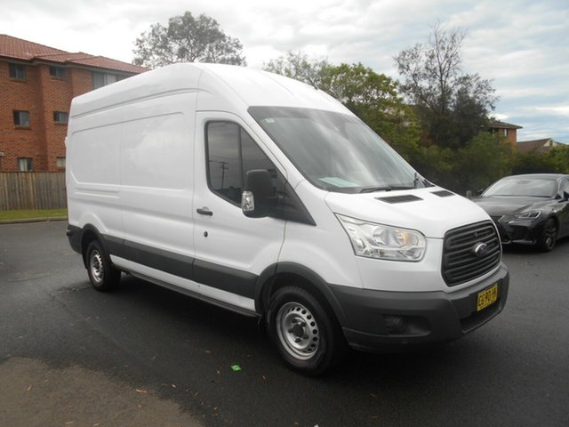 Used Ford Transit VO MY14.5 350L LWB High Roof Bankstown, 2015 Ford Transit VO MY14.5 350L LWB High Roof White 6 Speed Manual Van