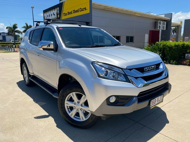 Used Isuzu MU-X MY14 LS-U Rev-Tronic Townsville, 2014 Isuzu MU-X MY14 LS-U Rev-Tronic Silver 5 Speed Sports Automatic Wagon