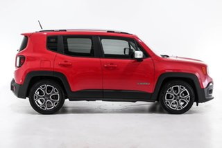 2017 Jeep Renegade BU MY17 Limited DDCT Red 6 Speed Sports Automatic Dual Clutch Hatchback