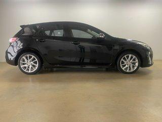 2011 Mazda 3 BL 11 Upgrade SP25 Black 5 Speed Automatic Hatchback.