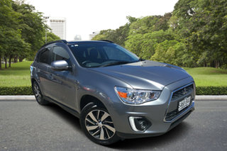 2014 Mitsubishi ASX XB MY15 XLS 2WD Grey 6 Speed Constant Variable Wagon.