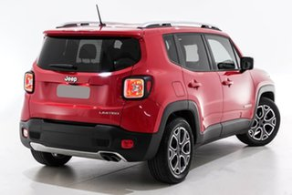 2017 Jeep Renegade BU MY17 Limited DDCT Red 6 Speed Sports Automatic Dual Clutch Hatchback.