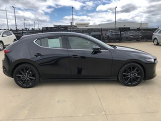 2019 Mazda 3 BP2HLA G25 SKYACTIV-Drive Astina Jet Black 6 Speed Sports Automatic Hatchback.