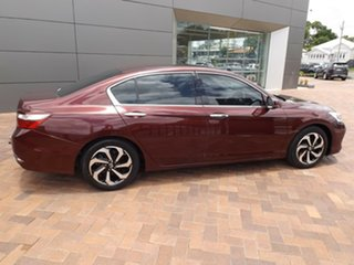 2016 Honda Accord 9th Gen MY16 VTi Red 5 Speed Sports Automatic Sedan