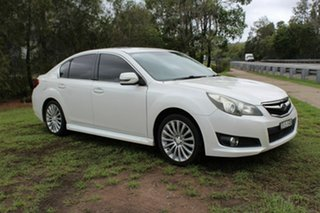 2011 Subaru Liberty B5 MY11 2.5i Lineartronic AWD Premium White 6 Speed Constant Variable Sedan.