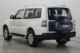 2009 Mitsubishi Pajero NT MY09 GLS White 5 Speed Sports Automatic Wagon