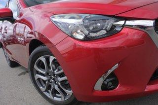 2017 Mazda 2 DJ2HA6 GT SKYACTIV-MT Soul Red 6 Speed Manual Hatchback.
