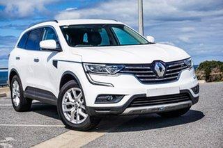 2017 Renault Koleos HZG Zen X-tronic White 1 Speed Constant Variable Wagon.