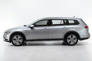 2016 Volkswagen Passat 3C (B8) MY16 140TDI DSG 4MOTION Alltrack Silver 6 Speed