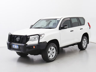 2018 Toyota Landcruiser Prado GDJ150R MY18 GX (4x4) White 6 Speed Automatic Wagon.