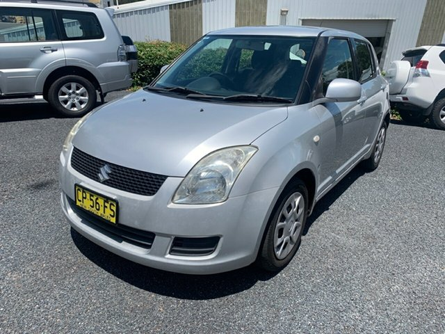 Used Suzuki Swift RS415 Maitland, 2009 Suzuki Swift RS415 Silver 4 Speed Automatic Hatchback