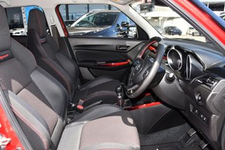 2018 Suzuki Swift AZ Sport Red/Black 6 Speed Manual Hatchback