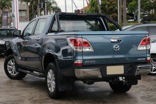 2014 Mazda BT-50 MY13 GT (4x4) Blue 6 Speed Automatic Dual Cab Utility.