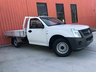 2007 Holden Rodeo RA MY07 DX 4x2 White 5 Speed Manual Cab Chassis.