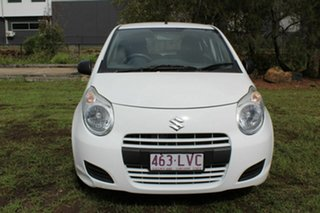 2009 Suzuki Alto GF GL White 5 Speed Manual Hatchback.