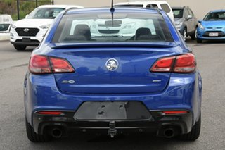 2015 Holden Commodore VF MY15 SV6 Blue 6 Speed Sports Automatic Sedan