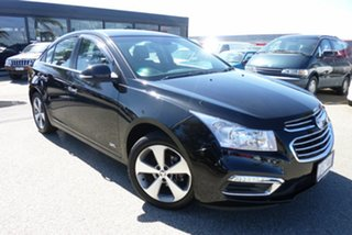 2016 Holden Cruze JH MY16 Z-Series Black 6 Speed Automatic Sedan.