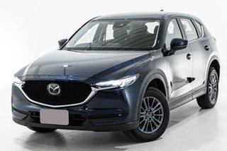 2019 Mazda CX-5 KF4WLA Maxx SKYACTIV-Drive i-ACTIV AWD Sport Blue 6 Speed Sports Automatic Wagon.