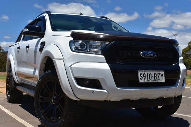 Used Ford Ranger PX MkII FX4 Double Cab St Marys, 2017 Ford Ranger PX MkII FX4 Double Cab White 6 Speed Sports Automatic Utility