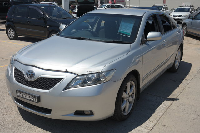 Used Toyota Camry ACV40R Altise Maryville, 2009 Toyota Camry ACV40R Altise Silver 5 Speed Automatic Sedan