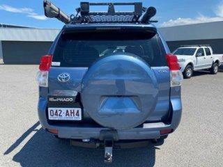 2009 Toyota Landcruiser Prado KDJ150R GXL Blue 6 Speed Manual Wagon