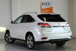 2015 Lexus RX AGL10R RX270 White 6 Speed Sports Automatic Wagon.