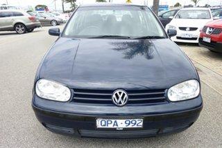 2000 Volkswagen Golf GL Blue 4 Speed Automatic Hatchback.