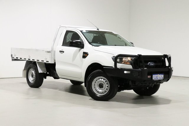 Used Ford Ranger PX MkII XL 3.2 (4x4) Bentley, 2016 Ford Ranger PX MkII XL 3.2 (4x4) White 6 Speed Manual Cab Chassis