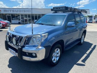 2009 Toyota Landcruiser Prado KDJ150R GXL Blue 6 Speed Manual Wagon