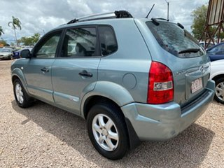 2005 Hyundai Tucson JM Elite Blue 4 Speed Sports Automatic Wagon