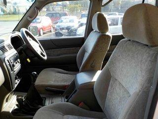 2001 Nissan Patrol GU II ST White 5 Speed Manual Wagon