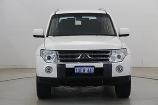 2009 Mitsubishi Pajero NT MY09 GLS White 5 Speed Sports Automatic Wagon.