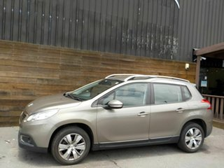 2014 Peugeot 2008 A94 Active Beige 4 Speed Sports Automatic Wagon