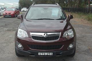 2014 Holden Captiva CG MY14 5 LTZ Maroon 6 Speed Sports Automatic Wagon.