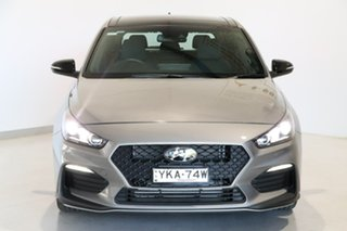 2020 Hyundai i30 PD.V4 MY21 N Line D-CT Premium Silver 7 Speed Sports Automatic Dual Clutch